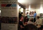 Raising Awareness and funds for PTSD Resolution<br />2012-Darts Night with British Networking International