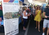 Raising Awareness and funds for PTSD Resolution<br />2012- Maritime Fest Ipswich