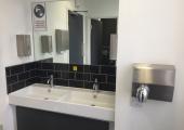 Toilet facilities on every floor