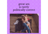 great sex is....?