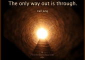 Why have Therapy.<br />The Only Way Out is Through
