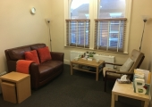 Counselling room at 136 Nantwich Road Crewe