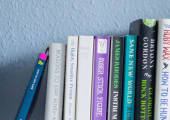 Some favourite books and well read and used books