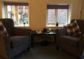 One of my private practice rooms<br />Quiet and confidential setting