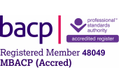 BACP Registered Accredited Member - My AVR Registration Number: 048049