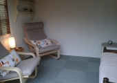 counselling room Marlborough - Comfortable garden setting