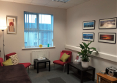 Therapy room in Bourne House, Carlisle