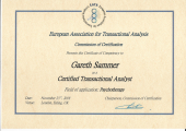 Psychotherapy CTA Qualification