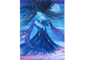 Inner Child Work (Masha's painting - Cradled by the Goddess of the Night)