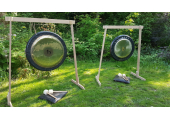 Nature & Sound - Gongs in the garden