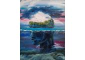 Mindfulness Practice (Masha's painting 'Submerged')