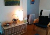 My therapy room in Carmarthen.