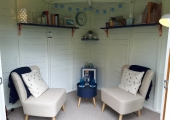 Summerhouse therapy room (Salford)