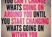 Change has to come from within