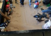 Sand Tray<br />An exercise that took us into battle with the enemy!