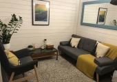 Log Cabin Therapy Room