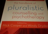 Publications<br />I have a chapter in The Sage Handbook of Pluralistic Therapy