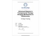 Transpersonal Diploma 2020
