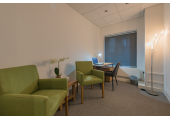 Therapy room<br />A cosy, calm therapy room