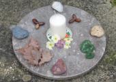 Granite circle for workshops