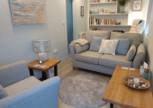Private, peaceful & comfortable Counselling room