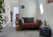 Light and airy counselling space - Social distancing available at all times