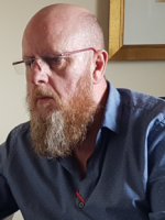 Davy Hutton EMDR Consultant; BACP Senior Accred.Psychotherapist/Supervisor;