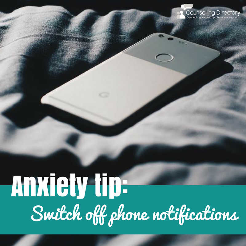 Anxiety tip