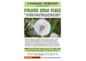 'Finding Your Place' a shamanic workshop in June 2018