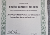 Level 7 Advanced Diploma in Integrative Counselling Supervision