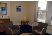 Therapy room<br />Relaxed, warm, quiet and private rooms.