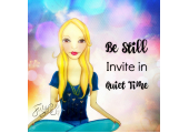 Muse Mantra: be still, invite in quiet time