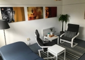 Counselling room - Our relaxing Buddha room with therapy couch if needed