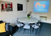 Training/Workshop room for hire - Takes up to 24 people, projector, flip chart included