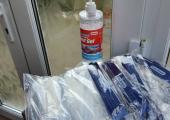 Hand sanitiser & face masks provided when you arrive