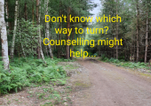 Does everything feel overwhelming? Are you feeling lost or confused? Counselling can help.