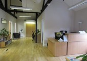 The Eaves Reception Area, Godalming<br />The Eaves Reception Area, Godalming