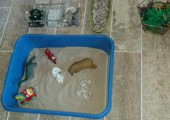 Example 1 of Sandplay therapy