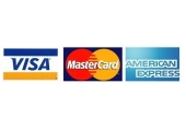 Payment<br />I accept all major credit cards