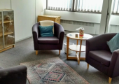 Counselling room in Wessex house.