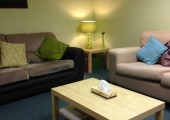 Consulting room - A calm, comfortable space to talk.