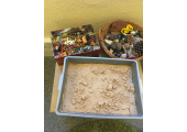 Sand trays provide a transtheoretical approach to therapy.