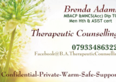 Brenda Adams Counsellor and Psychotherapist at Flourish Well-Being Antrim image 1