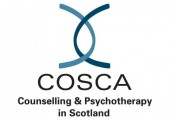 Practitioner member of COSCA Counselling & Psychotherapy in Scotland