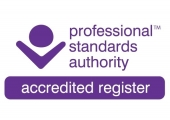 Accredited register logo COSCA