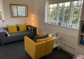 Safe Talk Therapy Room, Great North Business Centre