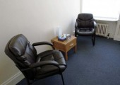 Therapy room - An example of one of the clinic rooms I use