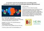 CPD Workshop - Working as a Cross-Cultural Counsellor