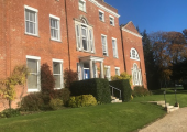 Main entrance to Worting House