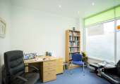 A consulting room at Awaken the Change